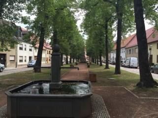 Wörlitz Marktplatz