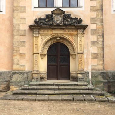 Eingangspforte der Burg Strehla
