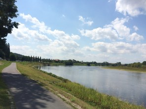 Elbe bei Diesbar-Seußlitz
