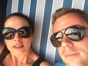 Selfie im Strandkorb