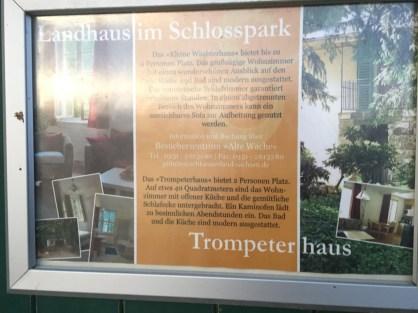 Übernachten im Schlosspark Pillnitz – Trompetenhaus