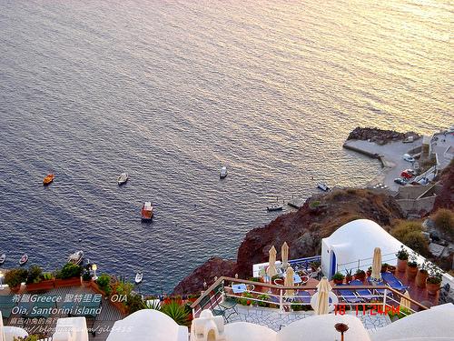 希臘Greece聖特里尼住宿-天堂秘境OIA:洞穴屋Lauda Hotel in Oia, Santorini island, Cyclades, Greece @麻吉小兔吃貨旅行團