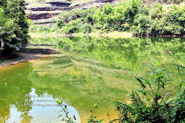 粵北-世界自然遺產【廣東丹霞山】上:陽元石好害羞 @麻吉小兔吃貨旅行團