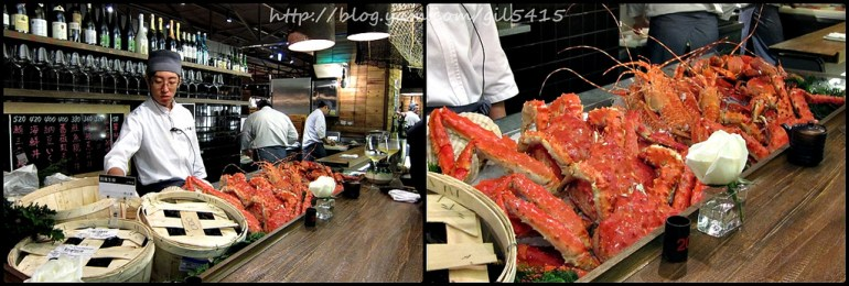 站著吃卡趣味!台北【上引水產】傳說的海鮮天堂 鱈場蟹好誘人啊~~~ @麻吉小兔吃貨旅行團
