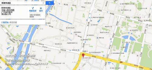 新城市酒店 - Google 地圖