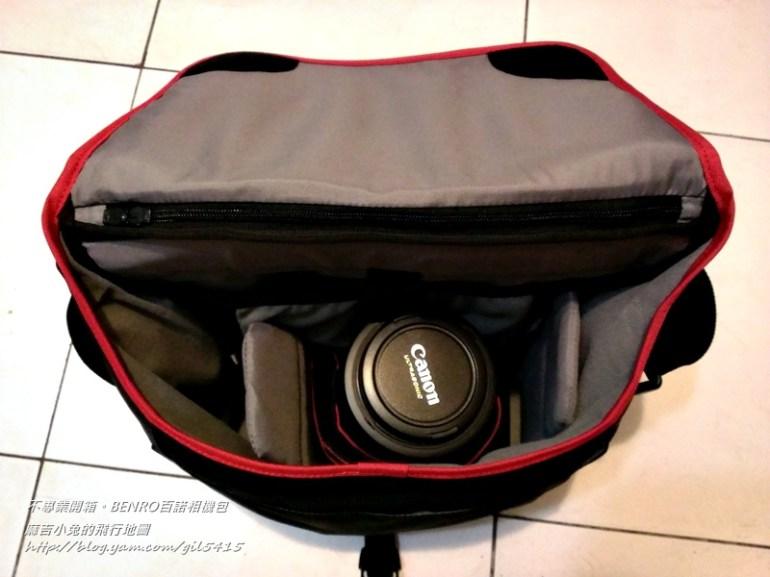 【攝影簡易不專業開箱】:BENRO 百諾20 單肩相機包 5D3可用 @麻吉小兔吃貨旅行團