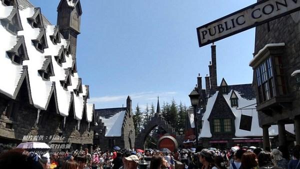 霍格華茲魔法學院向麻瓜公開了!【哈利波特魔法世界】大阪環球影城正式開幕 @麻吉小兔吃貨旅行團