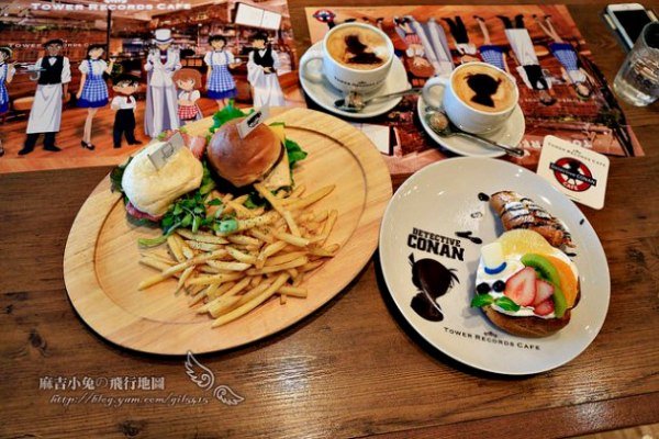 東京/大阪 期間限定【Detective CONAN CAFE 柯南偵探咖啡館】TOWER RECORDS CAFE SHIBUYA渋谷店