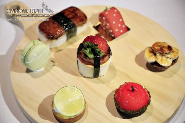 台北下午茶 美麗信青庭花園餐廳【午後戀習曲】繽紛果樣點心好甜蜜