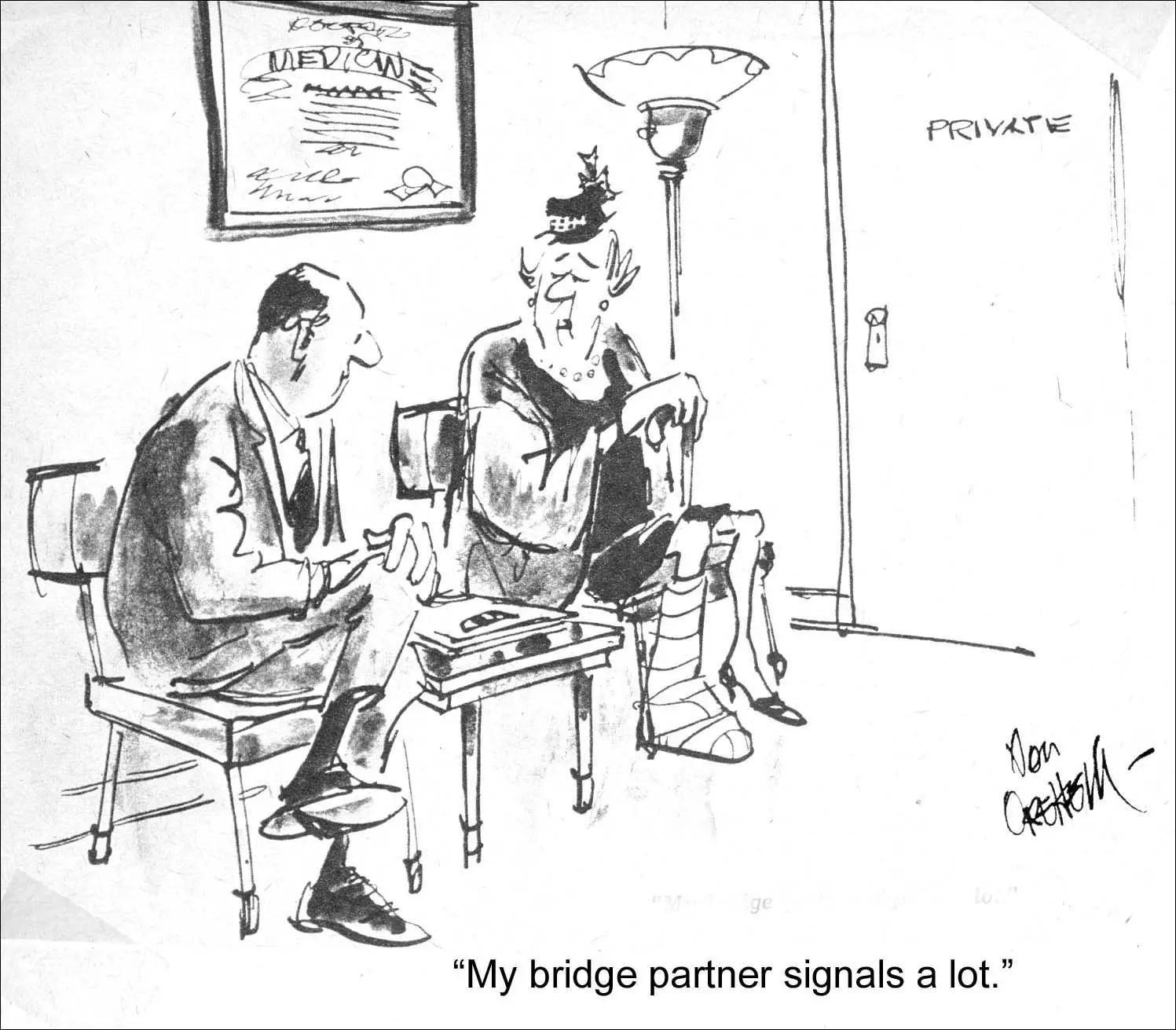 Bridge Puns