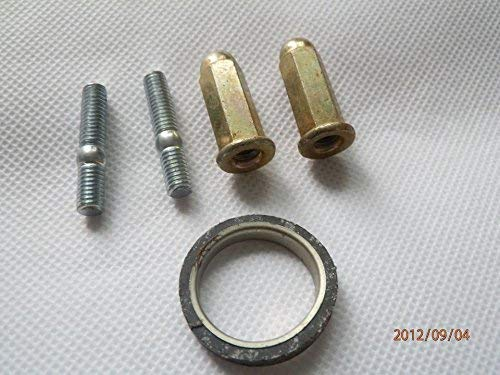exhaust nuts bolts and gasket 12 00