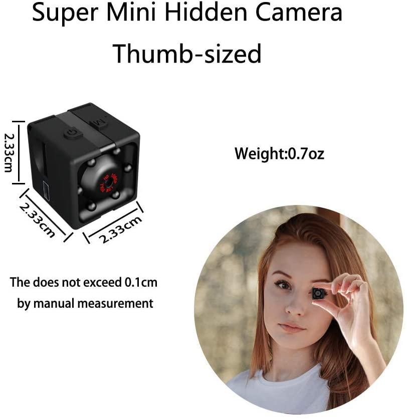 Mini Caméra Espion sans Fil, HD 1080P