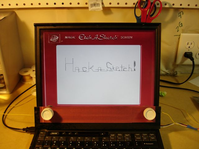 Laptop Too High Tech For Your Needs Turn It Into An Etch