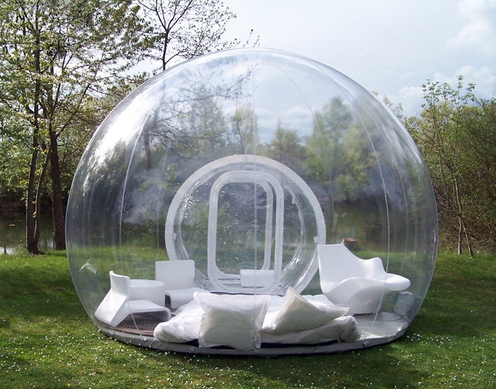 CristalBubble Is A Giant Inflatable Shelter