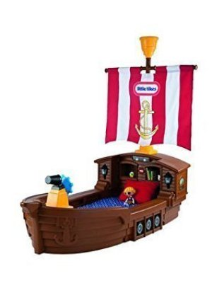 Little Tikes Pirate Ship Toddler Bed - Is it the best plastic bed you can buy? 8