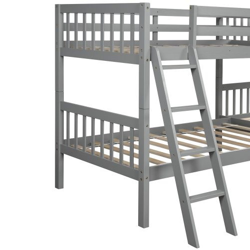 L-Shaped Bunk Bed Twin Size 8