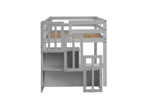 Loft Bed With Stair Case