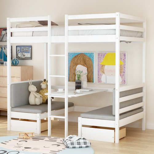 Functional Bunk bed , twin size 1