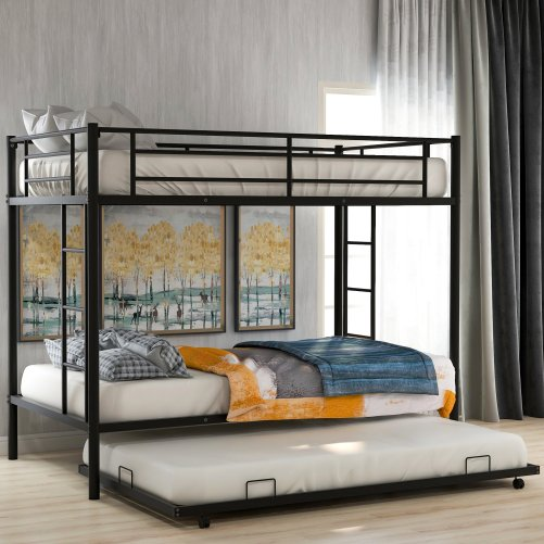 Twin over twin bunk beds with trundle 17