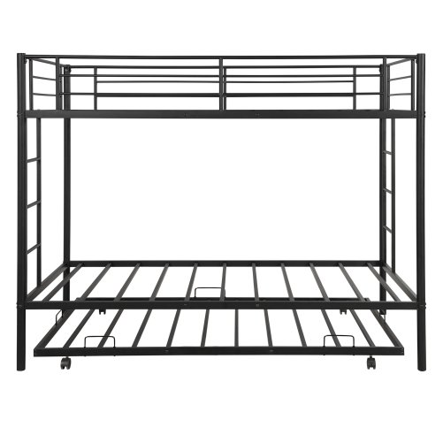 Twin over twin bunk beds with trundle 6