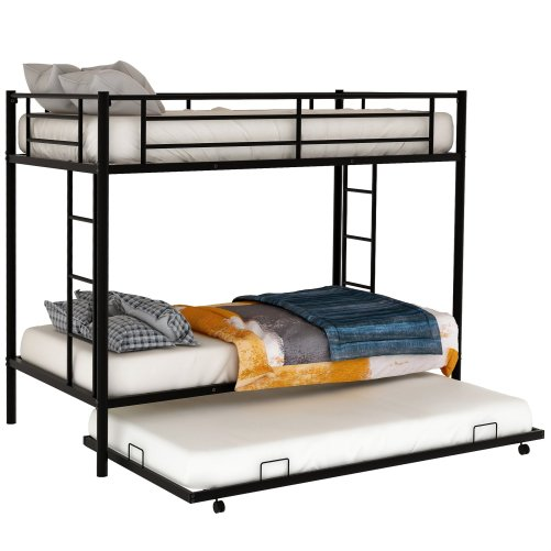 Twin over twin bunk beds with trundle 7