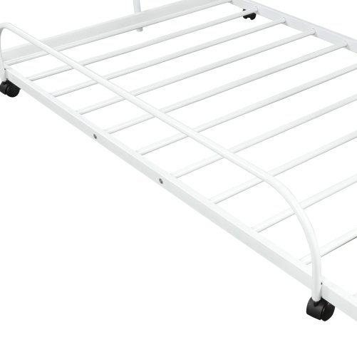 Metal Daybed with Trundle 2