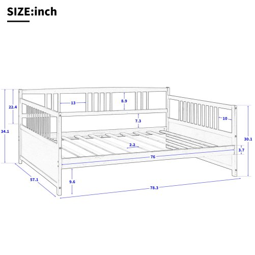 Wood Daybed Full Size Daybed 9