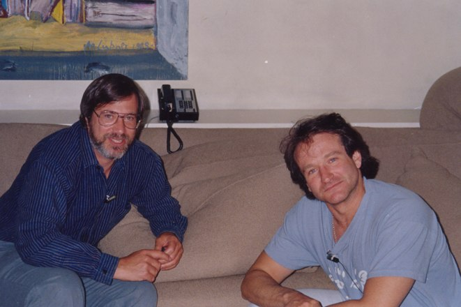 Larry si Robin Williams
