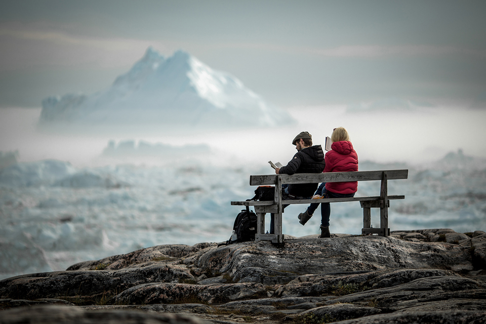 Ilulissat, fotografía por Mads Pihl y Visit Greenland