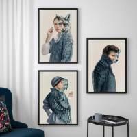 IKEA lanza dos nuevas colecciones de láminas inspiradas en la obra del pintor sueco Carl Larsson
