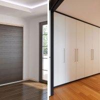 Armarios empotrados: ¿puertas correderas o abatibles?