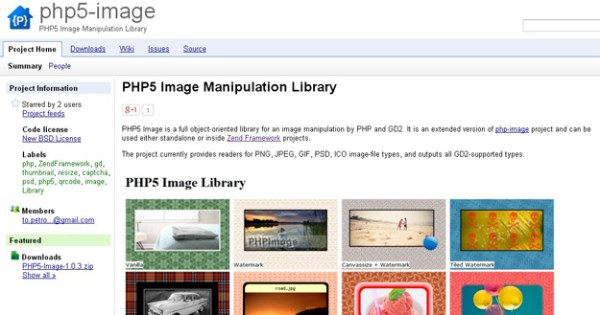 10 лучших PHPбиблиотек для управления изображениями о