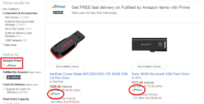 how to get free delivery on amazon without prime