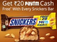 Paytm Snickers offer