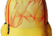 Amazon Deal- American Tourister Yellow Casual Backpack Worth Rs.2020 In Just Rs.580(78% Off)
