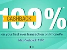 PhonePe App 100% CB