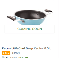 (Big Loot) Flipkart Big10 Sale - 99% Off On Cookware Products + Extra 30% PhonePe Off