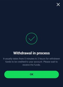 Trade Using StormGain and Withdraw