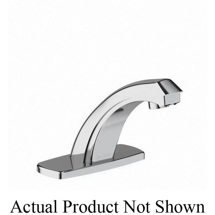 sloan 3315107bt ebf 187 optima electronic sensor activated faucet commercial 0 5 gpm flow rate 1 faucet hole polished chrome function