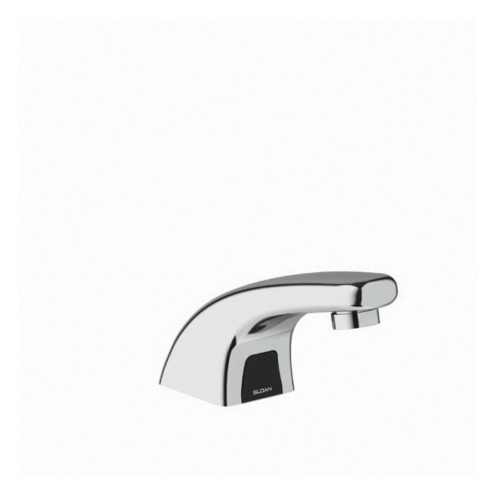 sloan 3315114bt ebf 615 optima electronic sensor activated faucet commercial 0 5 gpm flow rate 2 1 2 in h spout 1 faucet hole polished chrome