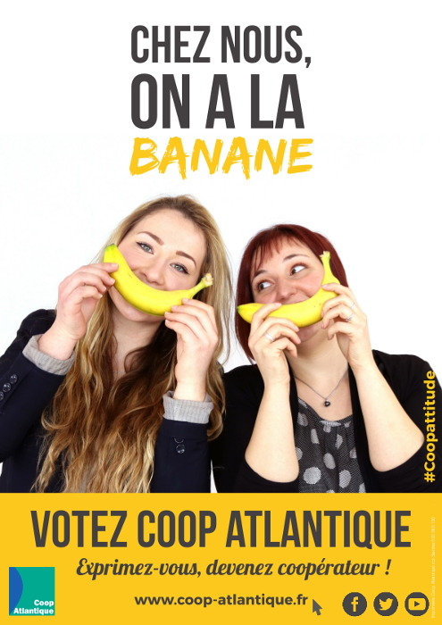 Votez Coop Atlantique : On a la banane !