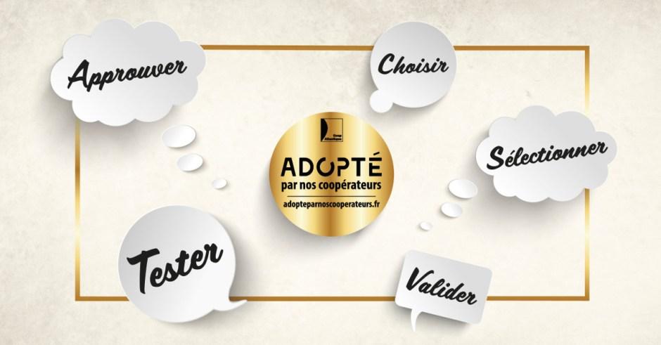A vous de choisir les produits adoptés par nos coopérateurs !
