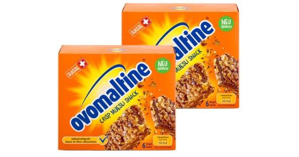 Compra Barretta Crisp Müesli Snack Ovomaltine, 6 pezzi 2x 150g a un prezzo conveniente   coop.ch