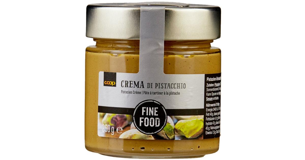 fine food creme de pistaches