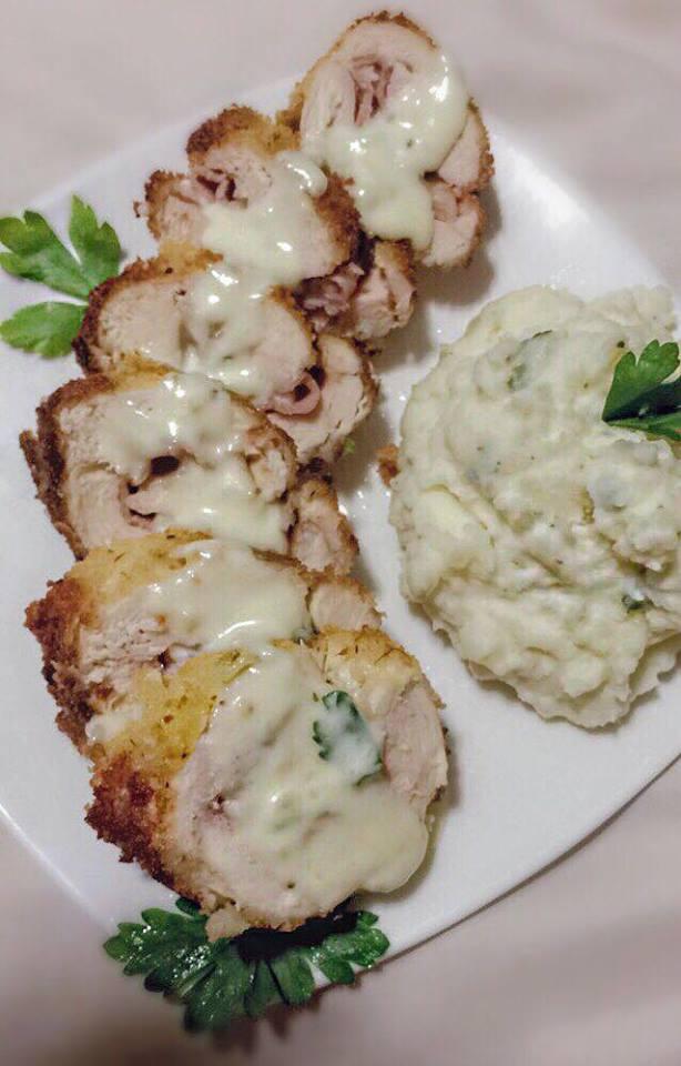 Chicken Cordon Bleu (Cajun Style)