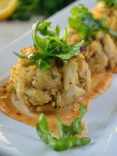 Crab Cakes With Creole Mustard Sauce