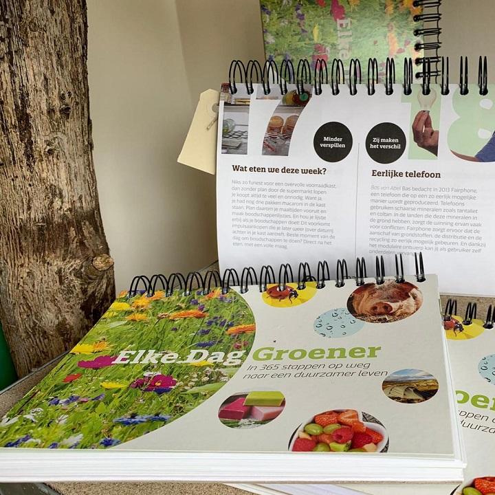 Elke Dag Groener kalender