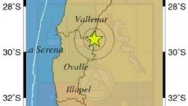 Epicentro fue a una profundidad de 112,6 kilómetros.