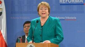 La presidenta Bachelet está cumpliendo con una de sus principales promesas de campaña.