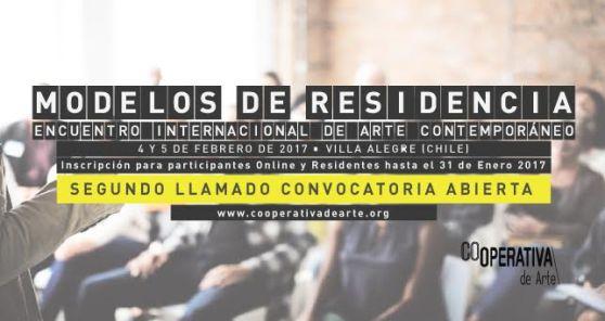 Encuentro Internacional de Arte Contemporáneo MODELOS DE RESIDENCIA